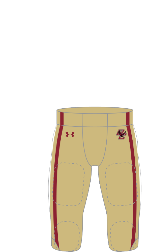 Boston College 2013 gold Pants