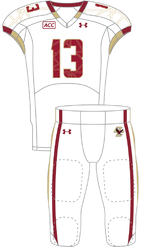 Boston College 2013 White