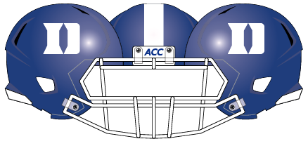 Duke 2012 Blue Helmet