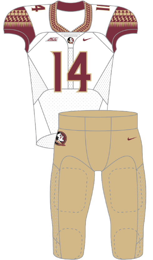 Florida State 2014 White Second