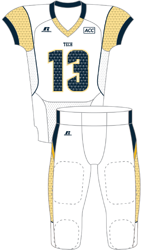 Georgia Tech 2013 Honeycomb Uniform