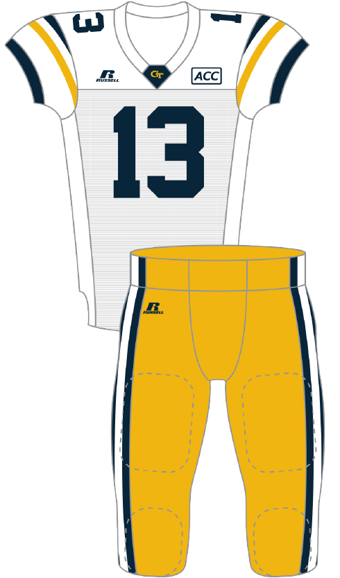 Georgia Tech 2013 Retro Uniform