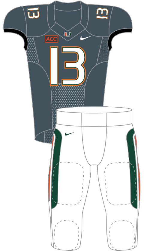 Miami 2013 Smoke Uniform