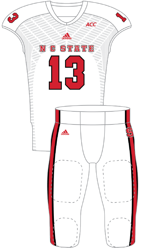 North Carolina State 2013 White