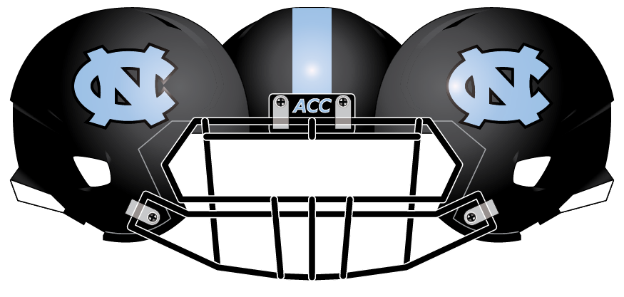 North Carolina 2013 Black Helmet