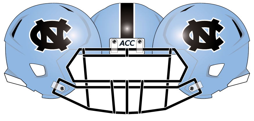 North Carolina 2013 Blue Helmet