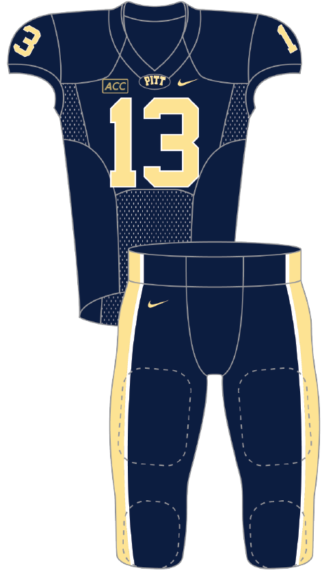 Pittsburgh 2013 Blue Uniform
