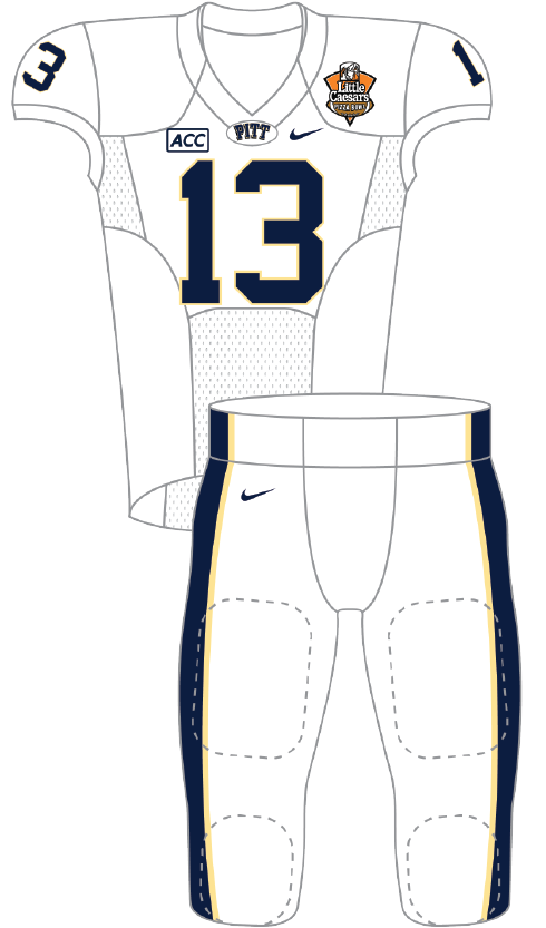 Pittsburgh 2013 White Uniform