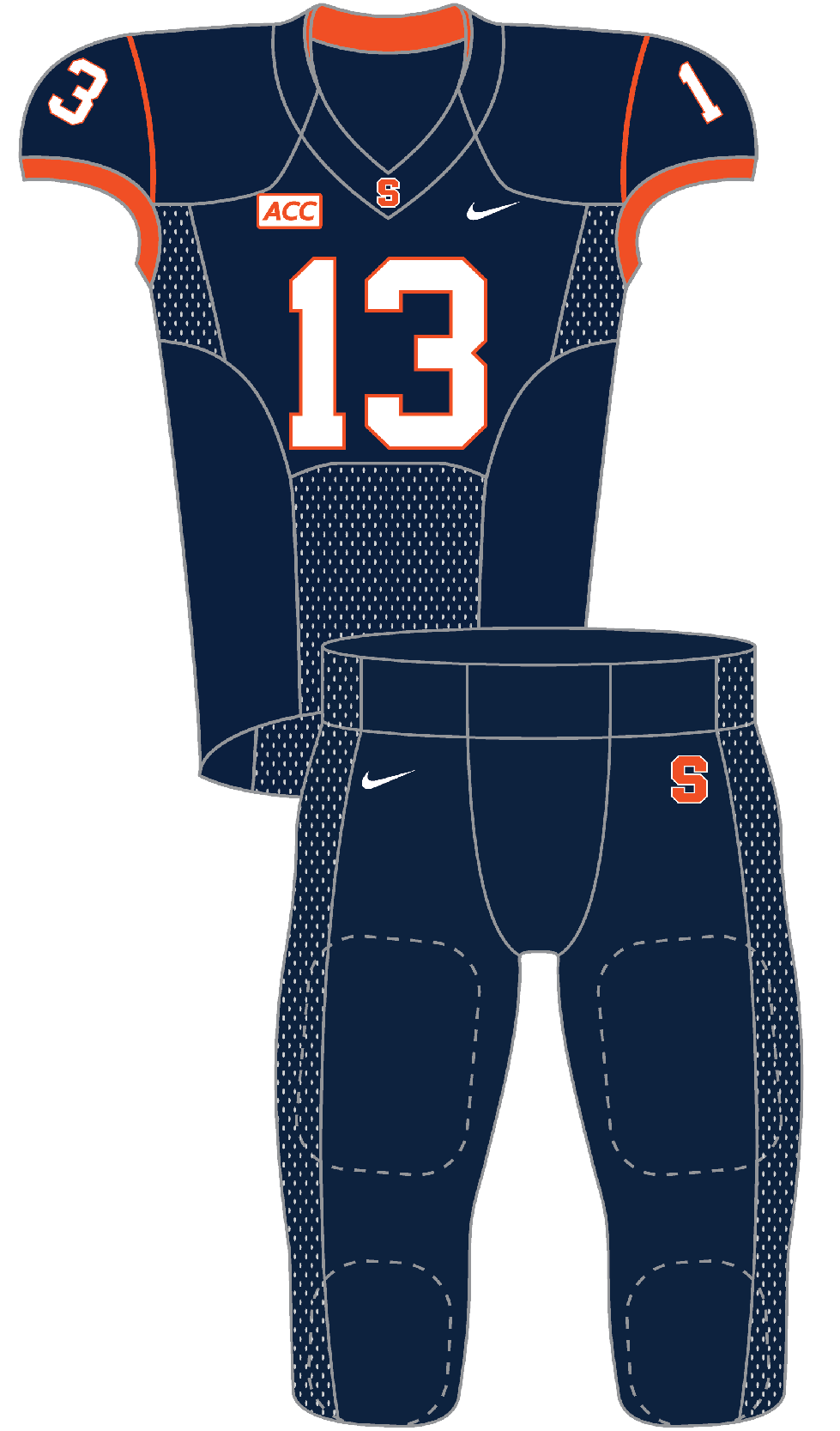 Syracuse 2013 Blue