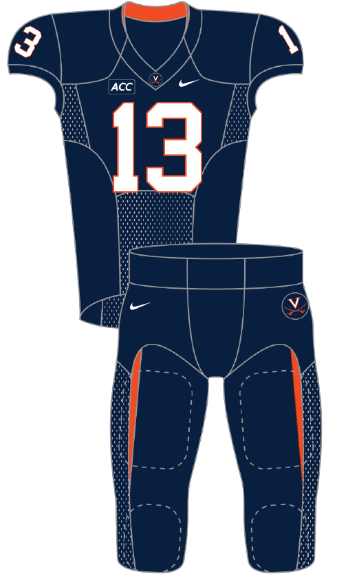 Virginia 2013 Blue Uniform