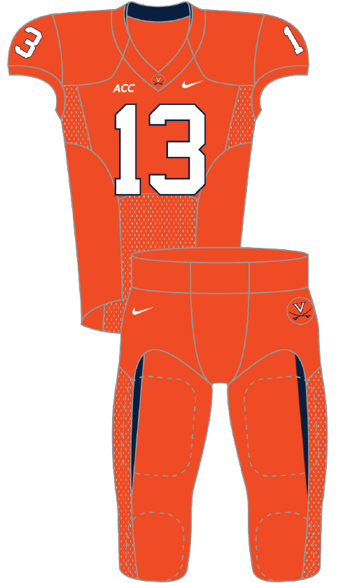 Virginia 2013 Orange Uniform