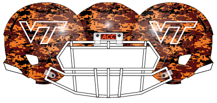 Virginia Tech 2013 Stone Crest Helmet