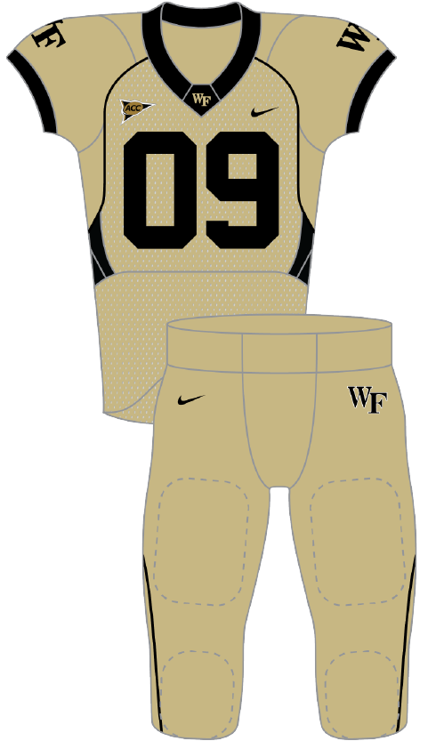 Wake Forest 2009 gold