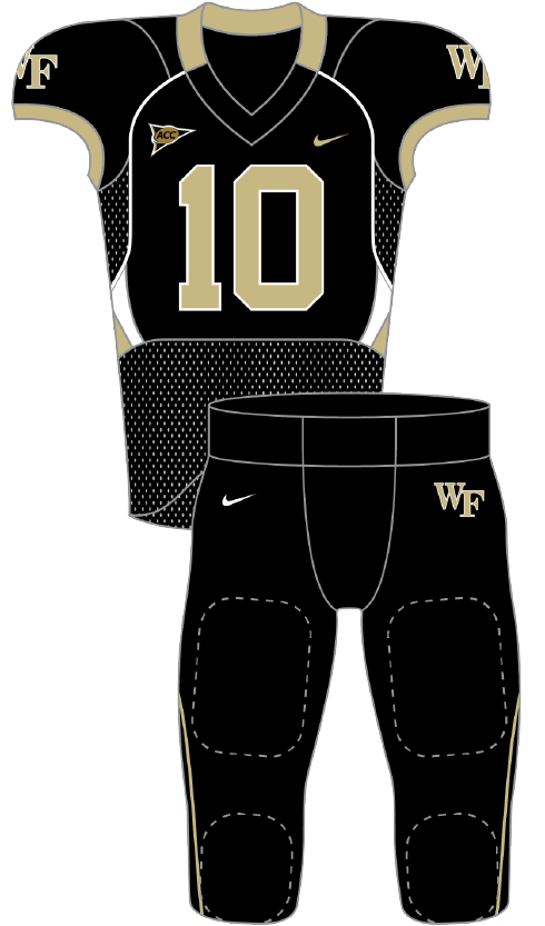 Wake Forest 2010 black