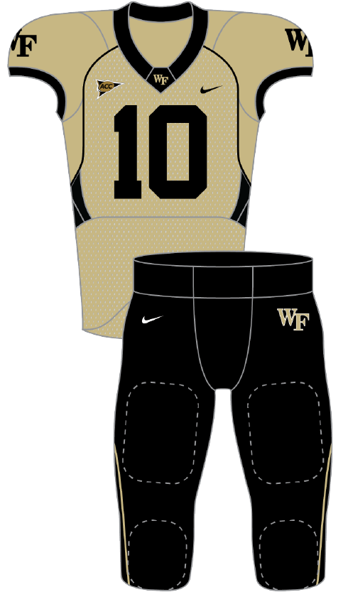 Wake Forest 2010 gold
