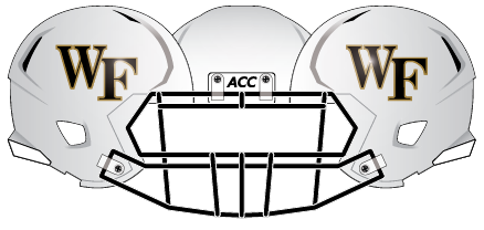 Wake Forest 2013 White Matte Helmet