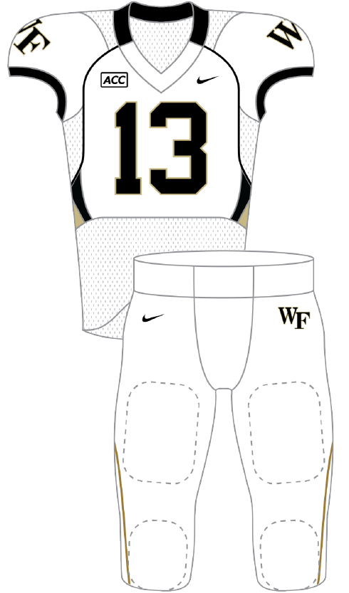 Wake Forest 2013 White