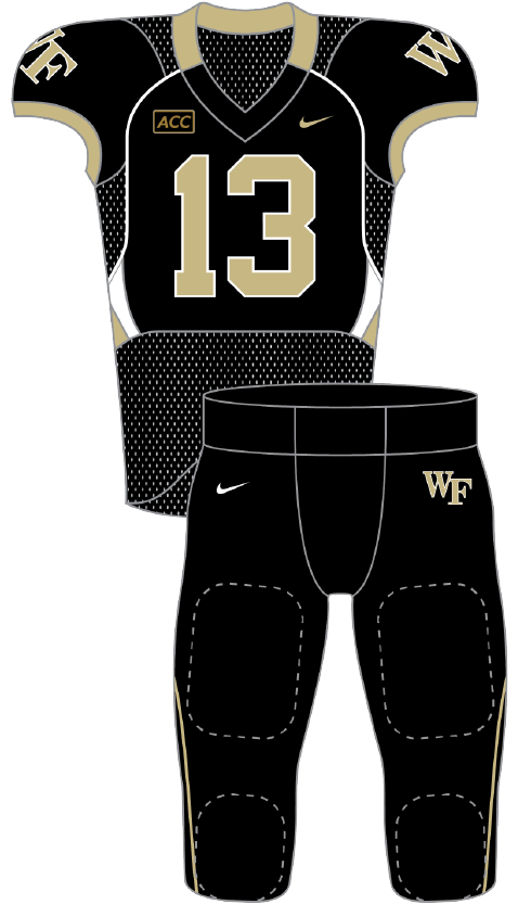 Wake Forest 2013 black