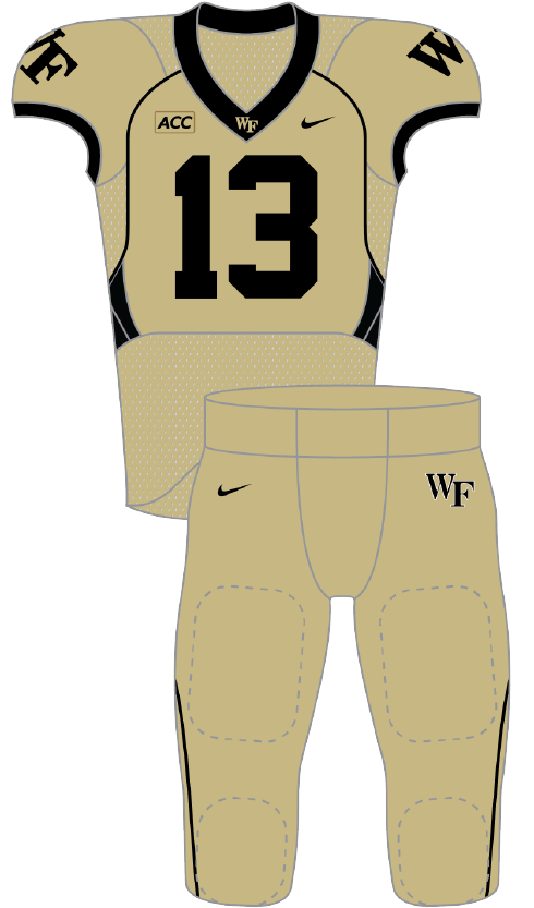 Wake Forest 2013 gold Pants