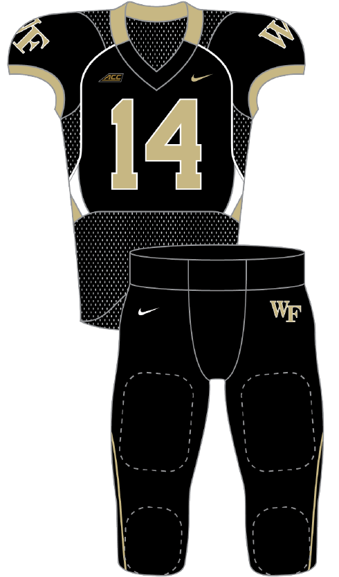 Wake Forest 2014 black