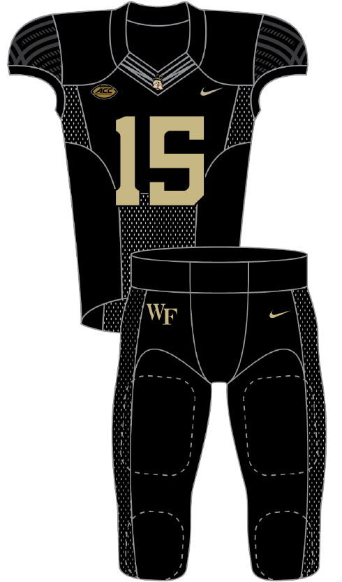 Wake Forest 2015 Black