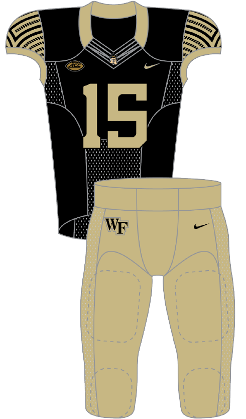 Wake Forest 2015 Gold